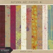 Autumn Art Papers Kit #1