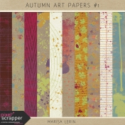 Autumn Art Papers Kit #1