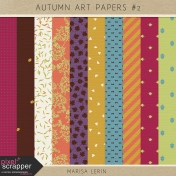 Autumn Art Papers Kit #2