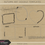 Autumn Art Doodle Templates Kit