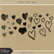 Paint Brush Kit #49- Hearts