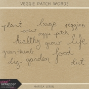 The Veggie Patch Words Kit