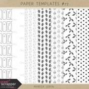 Paper Templates Kit #72