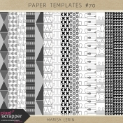 Paper Templates Kits #70
