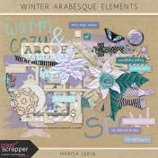 Winter Arabesque Elements Kit