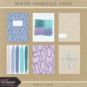 Winter Arabesque Cards Kit