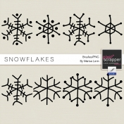 Snowflake Brushes Kit