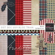 DST Dec 2011 Blog Train Kit