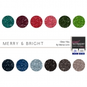 Merry & Bright Glitters Kit