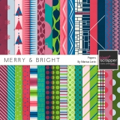 Merry & Bright Papers Kit