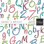 Merry & Bright Plastic Alpha Kit