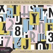Here & Now Alpha Pocket Cards Kit