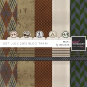 DST July 2012 Blog Train Kit