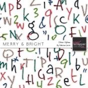 Merry & Bright Glitter Alpha Kit