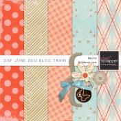 DSF June 2012 Blog Train Kit