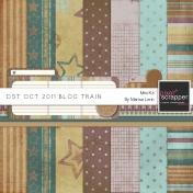 DST October 2011 Blog Train Kit