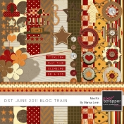 DST June 2011 Blog Train Kit