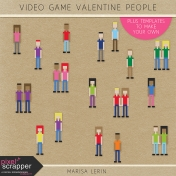 Video Game Valentine People Kit