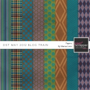 DST May 2012 Blog Train Papers Kit