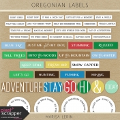 Oregonian Labels Kit