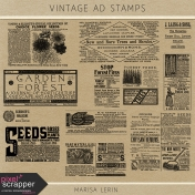 Vintage Ad Stamps Kit