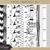 Paper Templates Kit #77