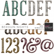 Bedouin Nights Plastic Glitter Alpha Kit