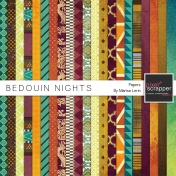 Bedouin Nights Papers Kit