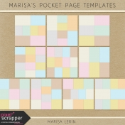 Marisa's Pocket Templates Kit #1