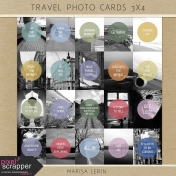 Travel Photo Cards 3x4 Kit