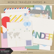 World Traveler Papers Kit #1