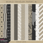 World Traveler Papers Kit #2