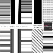 Stripe Paper Template Kit (61-70)