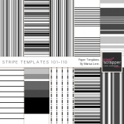Stripe Paper Template Kit (101-110)