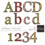 Spring Fields Glitter Alpha Kit
