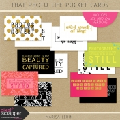 That Photo Life Pocket Cards