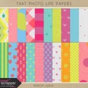 That Photo Life Papers Kit