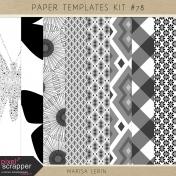 Paper Templates Kit #78