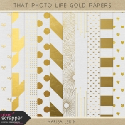 That Photo Life Gold Papers Kit
