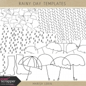 Rainy Day Templates Kit