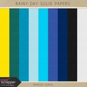 Rainy Day Solid Papers Kit