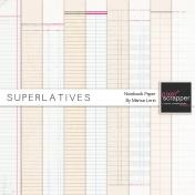Superlatives Notebook Paper Kit