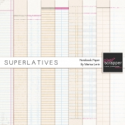 Superlatives Notebook Paper Kit