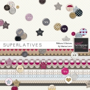 Superlatives Ribbons & Buttons Kit