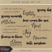 Easter Word Art Kit