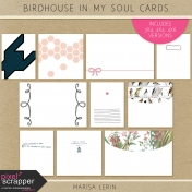 Birdhouse In My Soul Cards Kit