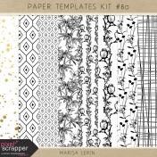 Paper Templates Kit #80