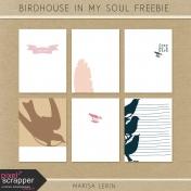 Birdhouse In My Soul Pocket Card Freebie Kit