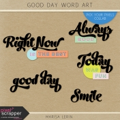 Good Day Word Art Kit