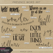 Presence Word Art Kit